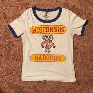 Tops - Wisconsin Badger Vintage Tee